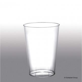 Bicchiere plastica in PS trasparente  200cc confezione da 50 pezzi