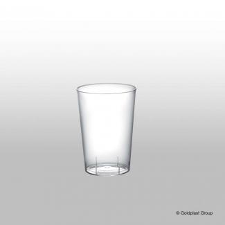 Bicchiere plastica in PS trasparente 100cc confezione da 50 pezzi