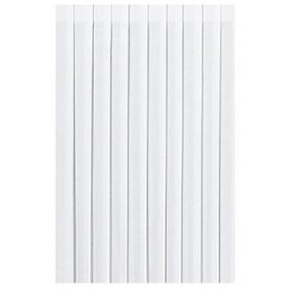Gonna da tavola in tnt airlaid bianco dunicel formato 0.72 x 4 metri cartone da 5 pezzi