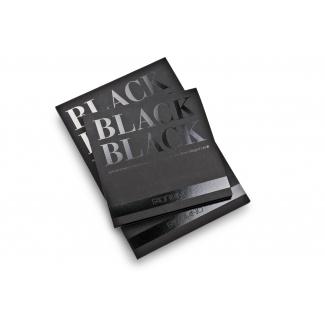 Fogli fabriano black da 280 gr/mq, in formato 50x70 cm, in confezioni da 10 fogli