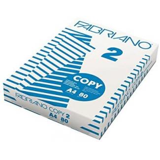 Risma di carta bianca fabriano da 80 gr/mq, in formato A3, in confezione da 500 fogli
