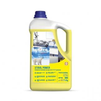 Detergente liquido alcalino concentrato per lavaggio meccanico delle stoviglie in acque medie