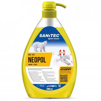 Detergente liquido concentrato per il lavaggio manuale di stoviglie alla profumazione di agrumi con pratico erogatore da 1 litro