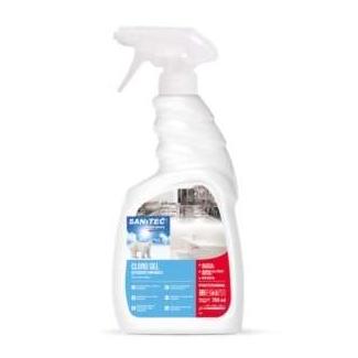 Detergente sgrassante clorinato con erogatore trigger da 750 ml elimina odori per superfici dure