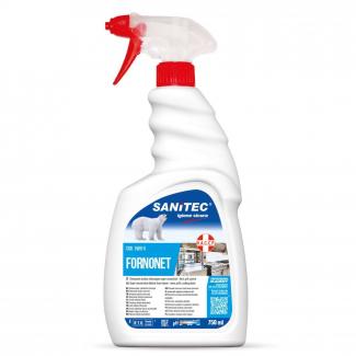 Detergente sgrassante per forni e piastre con erogatore trigger da 750 ml