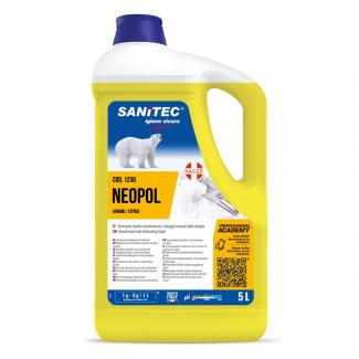 Detergente liquido concentrato per il lavaggio manuale di stoviglie alla profumazione di agrumi tanica da 5 litri