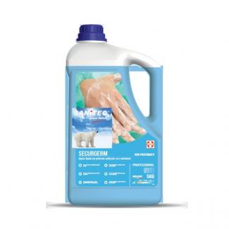 Sapone liquido sanificante con 2 antibatterici tanica da 5kg