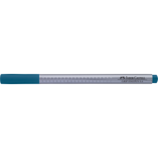 Penna a punta fine grip 0.4 mm turchese cobalto