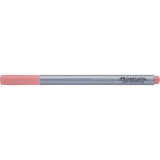 Penna a punta fine grip 0.4 mm rosa sabbia