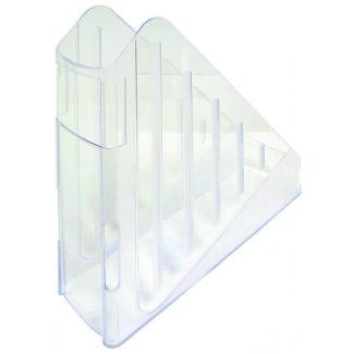 Portacorrispondenza in plastica colorata trasparente