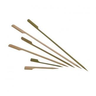 """Spiedi in bamboo modello """"Gulf"""" confezione da 100 pezzi"""