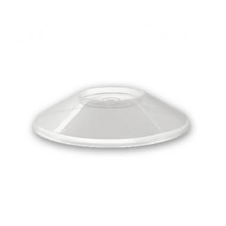 Coperchio per coppetta dessert trasparente diametro 10cm confezione da 50 pezzi