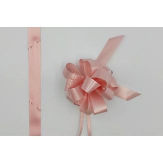 Coccarda laccio velox diamant rosa confezione da 30 pezzi