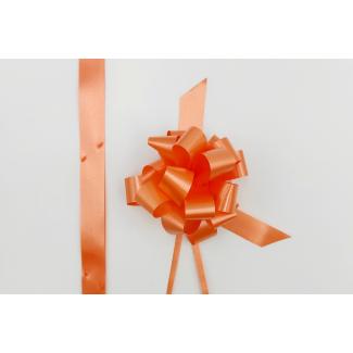 Coccarda laccio velox diamant arancione confezione da 30 pezzi