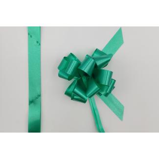 Coccarda laccio velox diamant verde smeraldo confezione da 30 pezzi