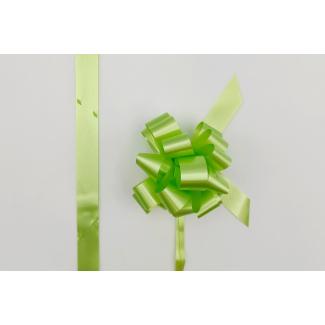 Coccarda laccio velox diamant verde chiaro confezione da 30 pezzi