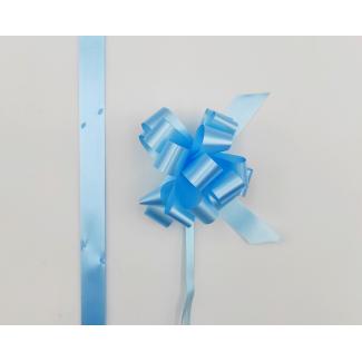 Coccarda laccio velox diamant cielo confezione da 30 pezzi