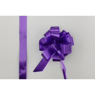 Coccarda laccio velox diamant viola confezione da 30 pezzi