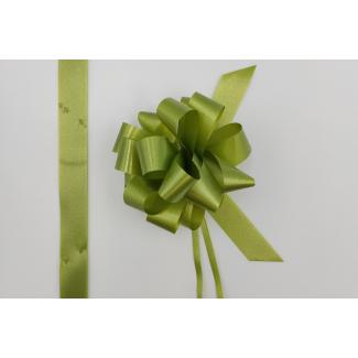 Coccarda laccio velox diamant verde oliva confezione da 30 pezzi