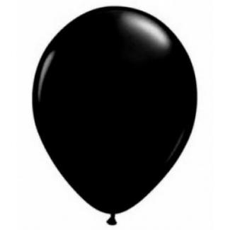 Palloncino 35cm in confezione da 25 pezzi colore nero