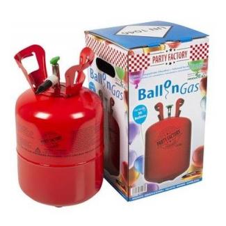 Bombola elio usa e getta per gonfiare circa 30 palloncini