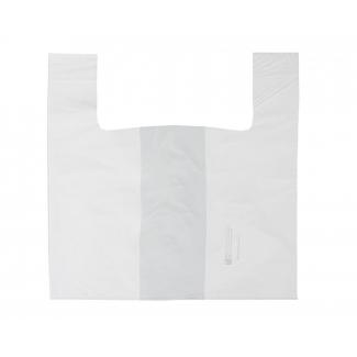 shopper per vassoi gastronomia e pasticceria (fondo largo), biodegradabile in mater-bi