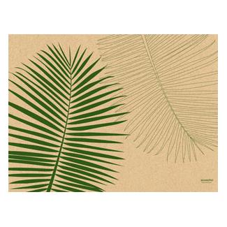 """tovaglietta in cellulosa di erba fantasia """"leaf"""" 30x40cm, confezione da 250 pezzi"""