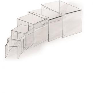 Supporto espositivo acrilico trasparente