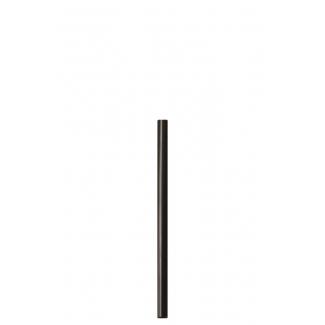 Cannuccia in PLA nera biocompostabile 13.5 cm, confezione da 200 pezzi