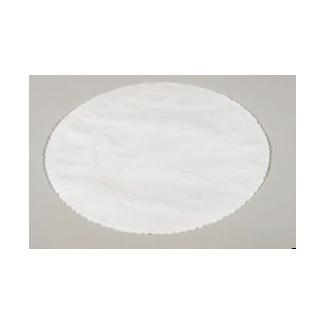 Sottofritto carta bianco diametro 20 cm, confezione da 500 pezzi