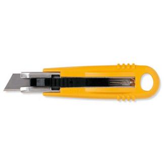 Cutter con lama 18mm, rientrante