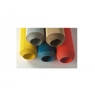 Rotolo in cartoncino ondulato colorato, altezza 100cm - lunghezza 2 metri