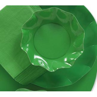 Sottopiatto in cartoncino, diametro 32cm, in confezione da 5 pezzi