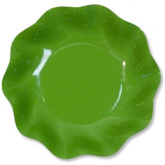 Piatto fondo in cartoncino, diametro 22.5, confezione da 10 pezzi