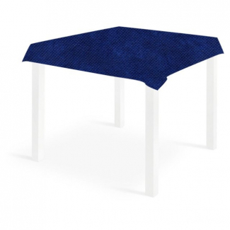 Tovaglia quadrata blu in tessuto non tessuto