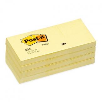 Post-it giallo confezione 12 pezzi