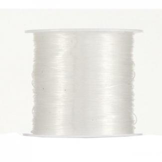 Filo nylon in rotolo trasparente mm 0.25 x 100 mt