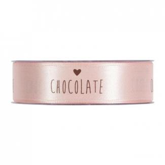Rotolo nastro con scritta chocolate love