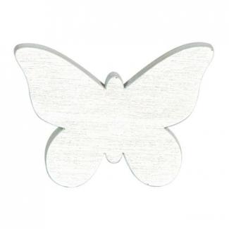 Farfalla decoro legno mm 25
