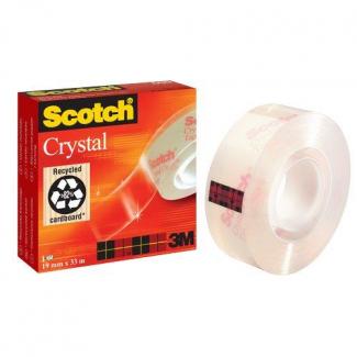 Scotch nastro adesivo super trasparente formato 19 mm x 66 m