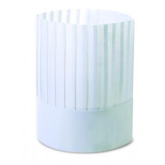 Copricapo bustina bianco in carta ristocap confezione da 100 pezzi