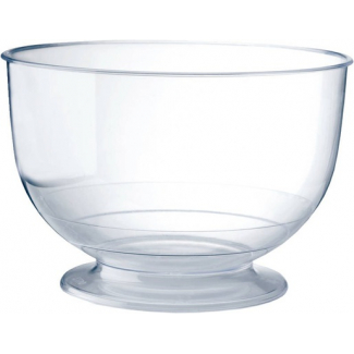 COPPETTA GLASSES TRASPARENTE 260CC CONFEZIONE DA 20 PEZZI