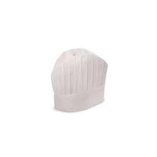 Cappello grande chef prestige h. 25 cm in viscosa bianco confezione da 20 pezzi