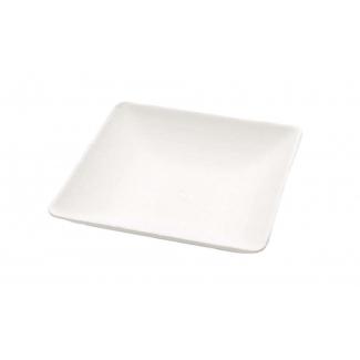 Finger food quadrato polpa di cellulosa biodegradabile 6.3x6.3cm confezione da 20 pezzi