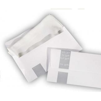 Busta in carta goffrata porta tovagliolo formato 28x14cm confezione da 500 pezzi