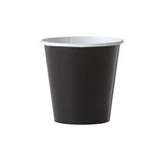 """Bicchiere per bevande calde e fredde in cartoncino linea """"Black"""""""