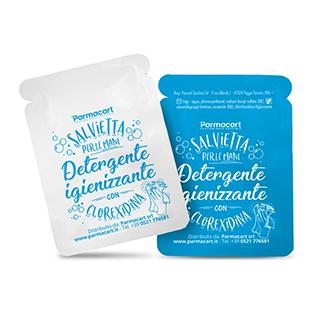 Salviette igienizzantimani con Clorexidina cartone da 250 pz (art. SAL0401d1-x)