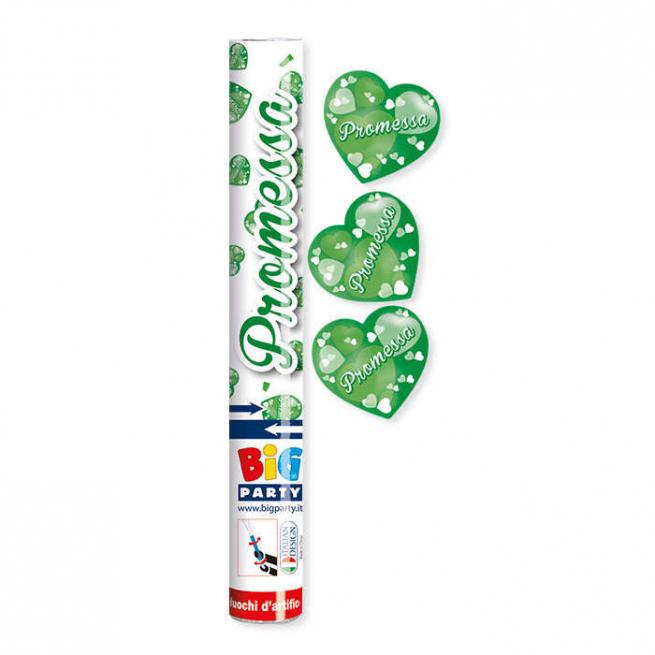 Cannone sparacoriandoli promessa verde alto 30cm