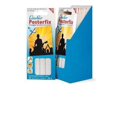 Gommini posterfix per fissaggio 52 pezzi