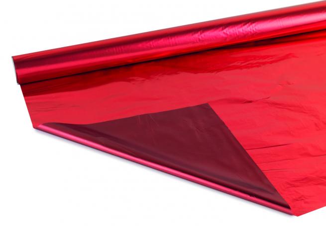 Bobina decor metallizzato hd bicolor tendence 2 lati rosso/bordeaux MT 1X20 MT